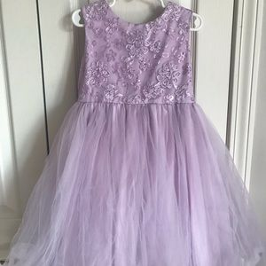 Purple tutu princess dress